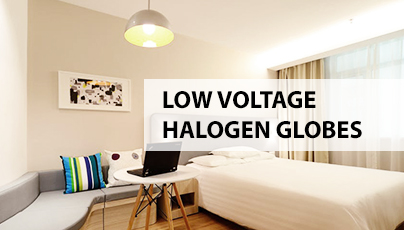 Low Voltage Halogen Globes